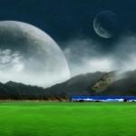 Sfondi desktop HD paesaggio fantasy digitale