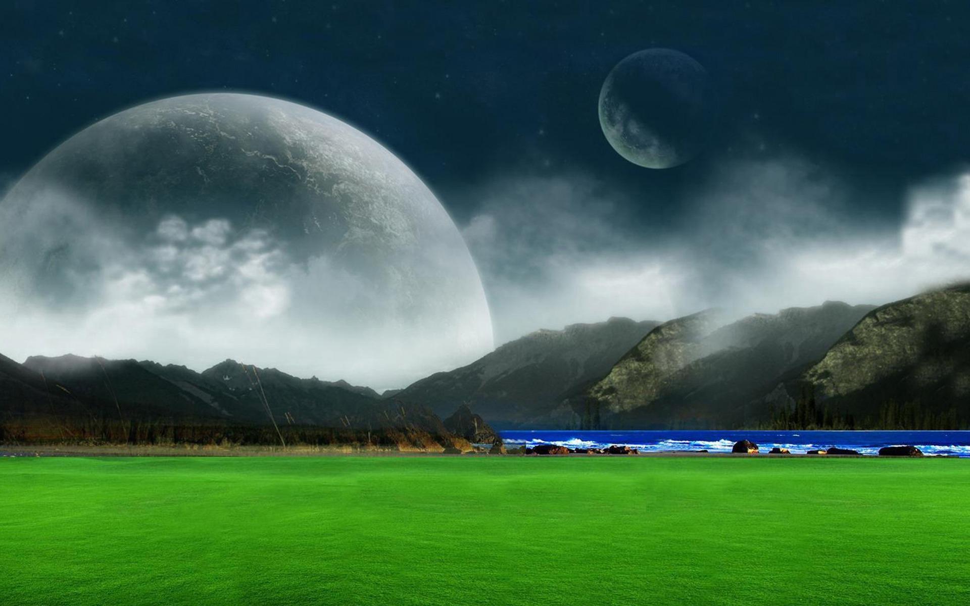 Sfondi Desktop Hd Paesaggio Fantasy Digitale Sfondi Hd Gratis