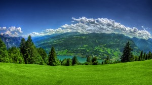 Sfondi HD gratis - paesaggio di montagna