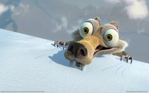Sfondi desktop HD Scrat dell'Era glaciale