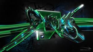Sfondi desktop HD  astratto verde - immagini