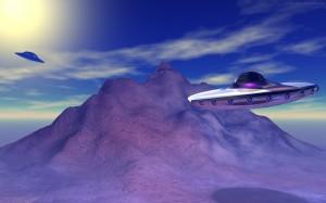 Sfondi desktop HD ufo