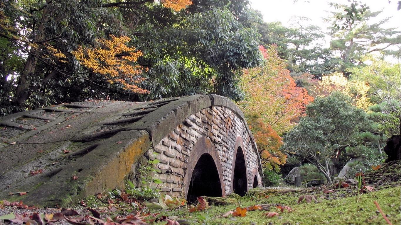 Sfondi desktop paesaggi hd ponte nella foresta sfondi for Paesaggi desktop