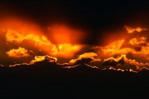 Sfondi HD - nuvole rosse