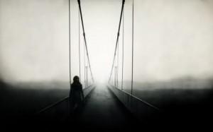 Sfondi HD paesaggi - immagine desktop ponte nella nebbia