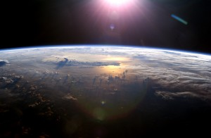 Sfondi HD spazio - terra in 3D