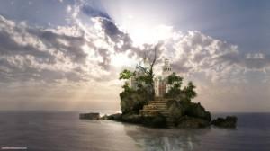 Sfondi desktop HD fantasy - castello
