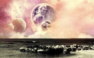Sfondi desktop HD fantasy - paesaggio spaziale