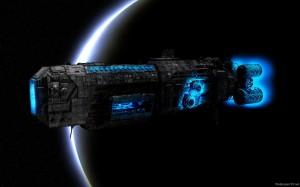 Sfondi desktop HD fantasy - nave spaziale