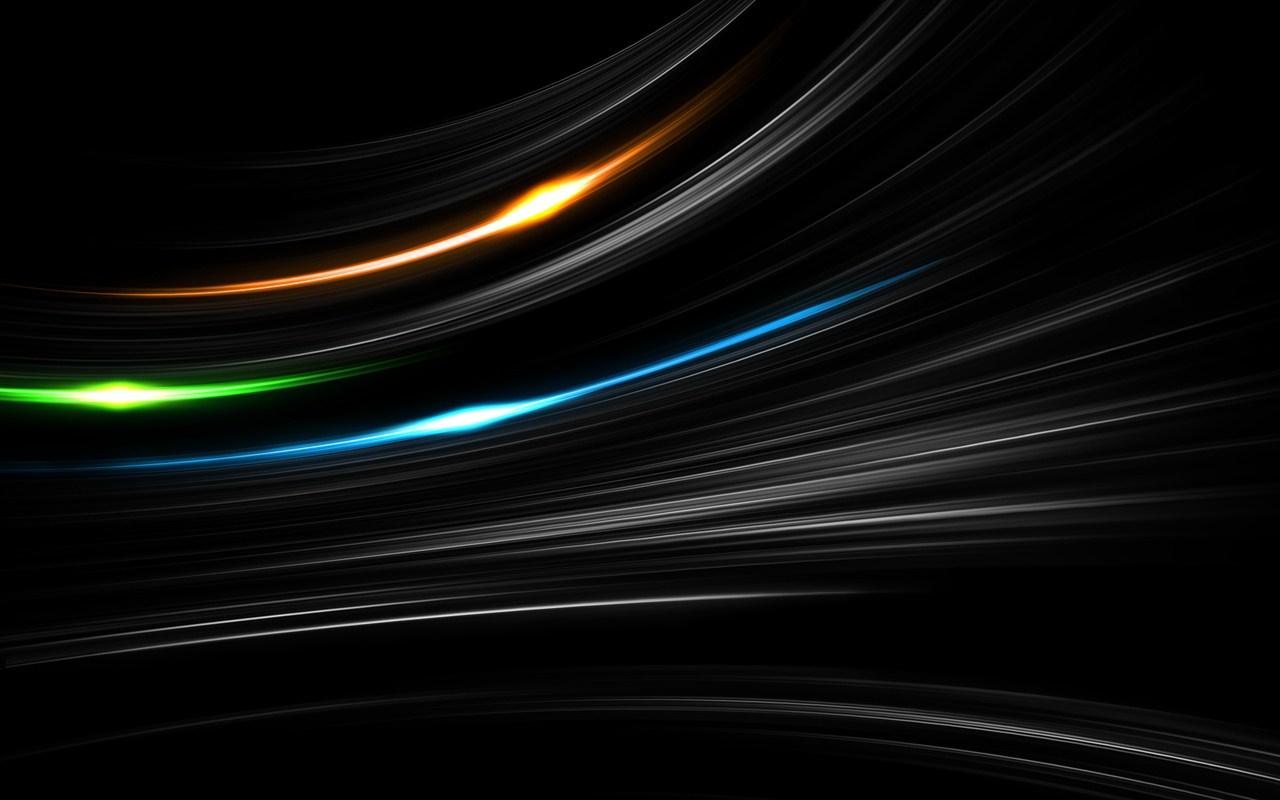 Sfondo nero desktop