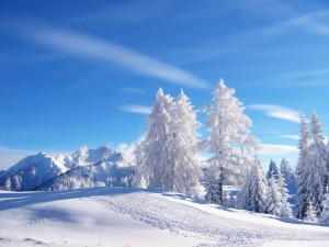 Sfondi desktop HD neve - montagna