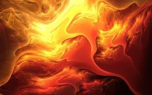 Sfondi desktop Hd astratti -immagini fuoco gratis