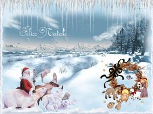 Sfondi desktop Natale per pc - felice natale