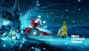 Sfondi Natale HD desktop - babbo natale