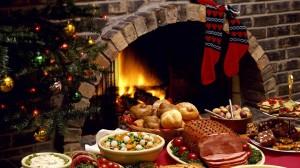 Sfondi Natale HD desktop - pranzo di natale