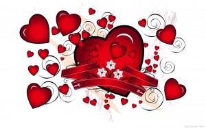 Sfondi cuori e san valentino per desktop
