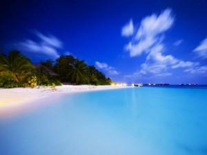Sfondi mare paesaggi HD - maldive