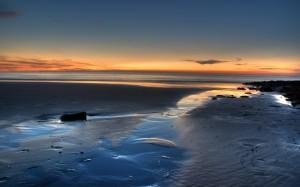 Sfondi mare paesaggi HD - tramonto