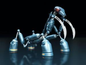 Sfondi HD in 3D per desktop - robot