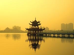 Sfondi HD lago Taiwan
