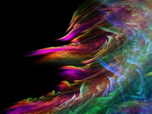 Sfondi HD astratti - fumo colorato