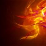 Sfondi astratti HD - luci e fuoco