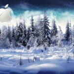 Sfondi HD MAc Apple - inverno e neve