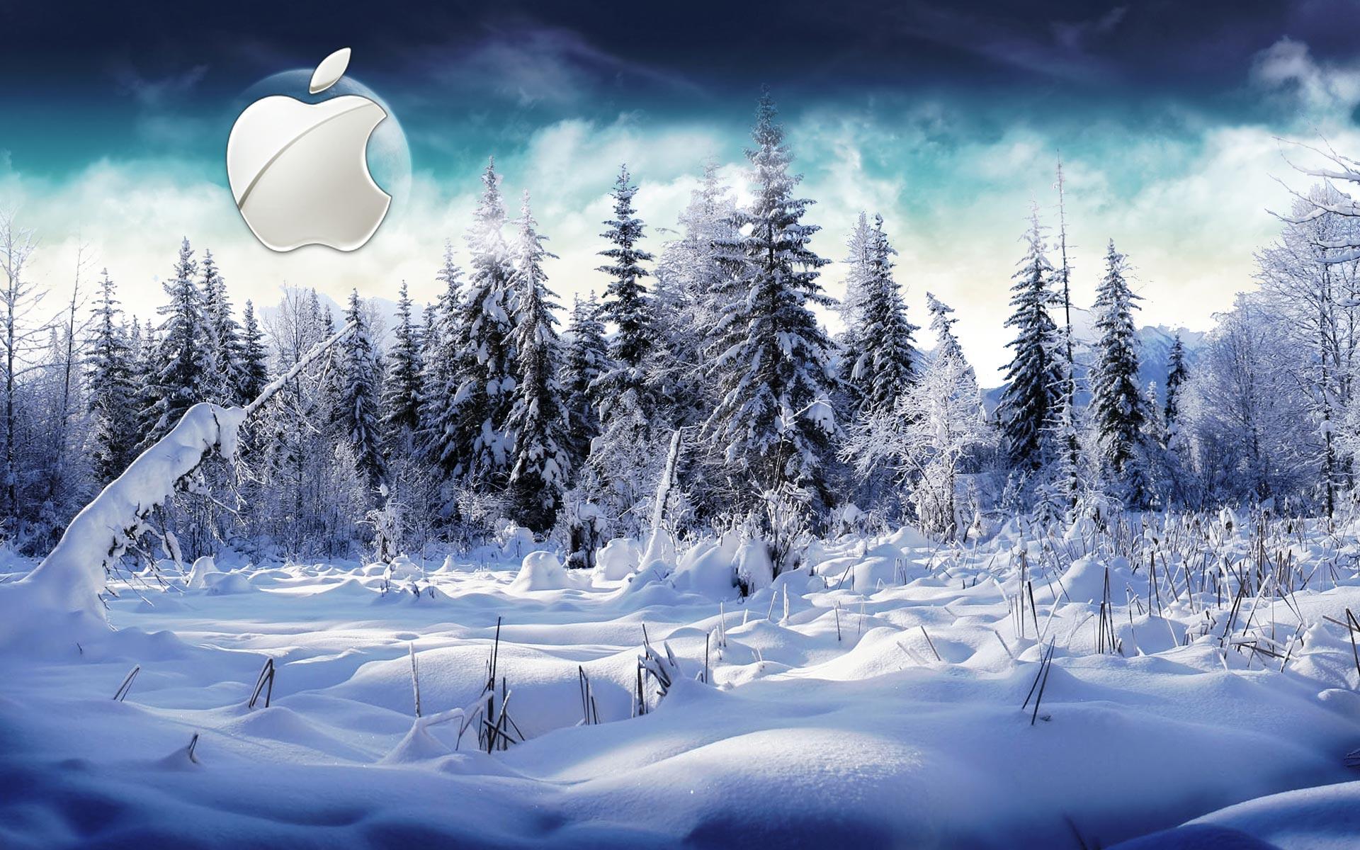 Sfondi hd mac apple inverno e neve sfondi hd gratis for Desktop gratis inverno