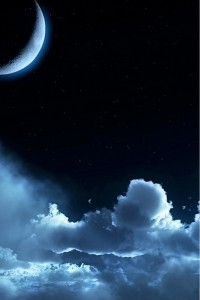 Sfondi HD iphone - cielo di notte