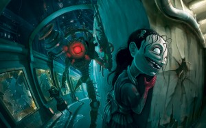 Sfondo HD Officila Bioshock 2