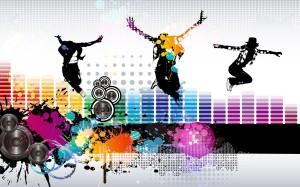 Sfondo HD musica - arte