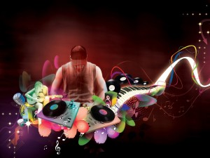 Sfondo HD musica - dj