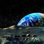 Sfondi-bellissimi-HD luna e terra