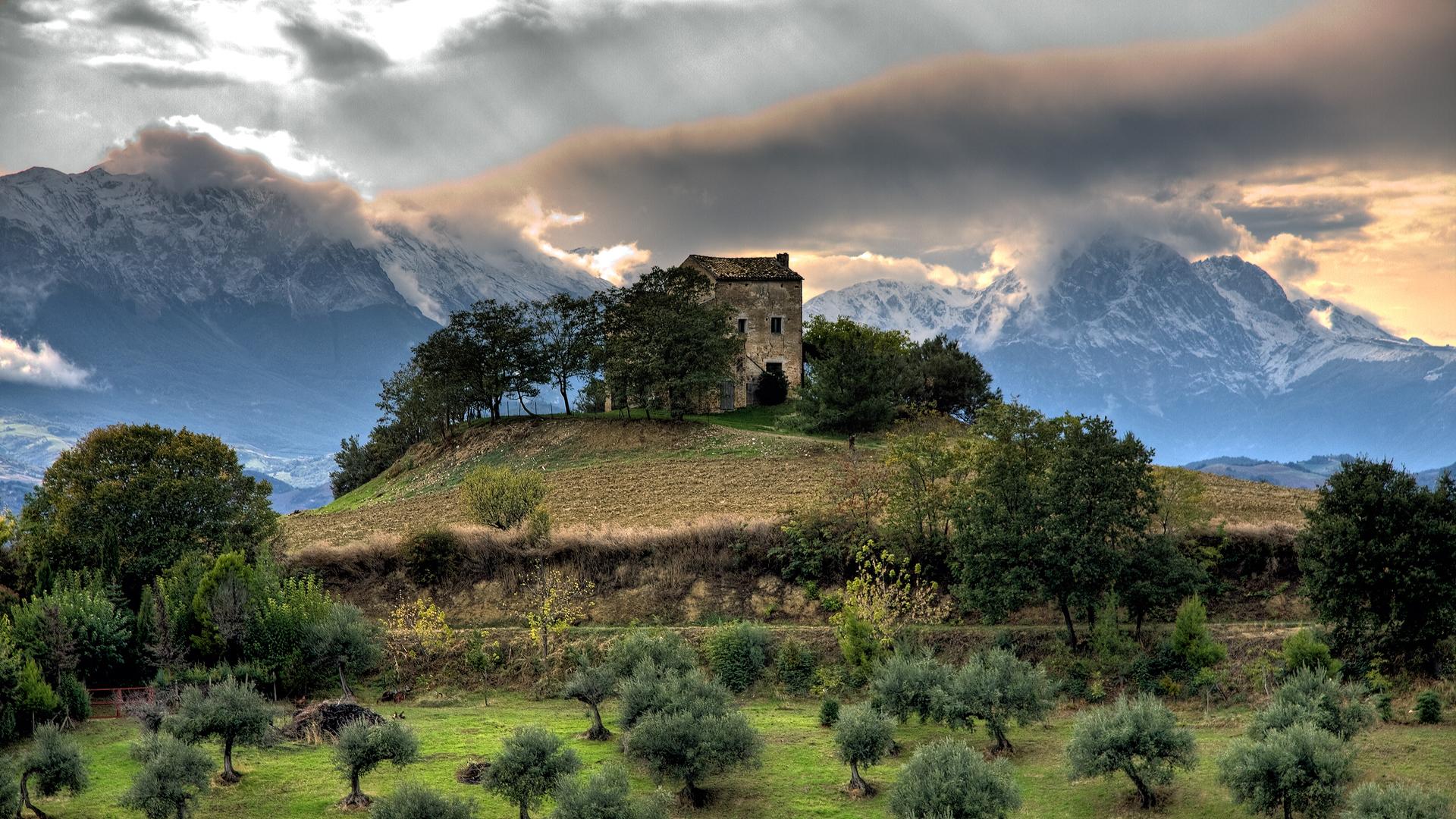 Sfondi Full Hd Natura Paesaggio Di Montagna Sfondi Hd Gratis