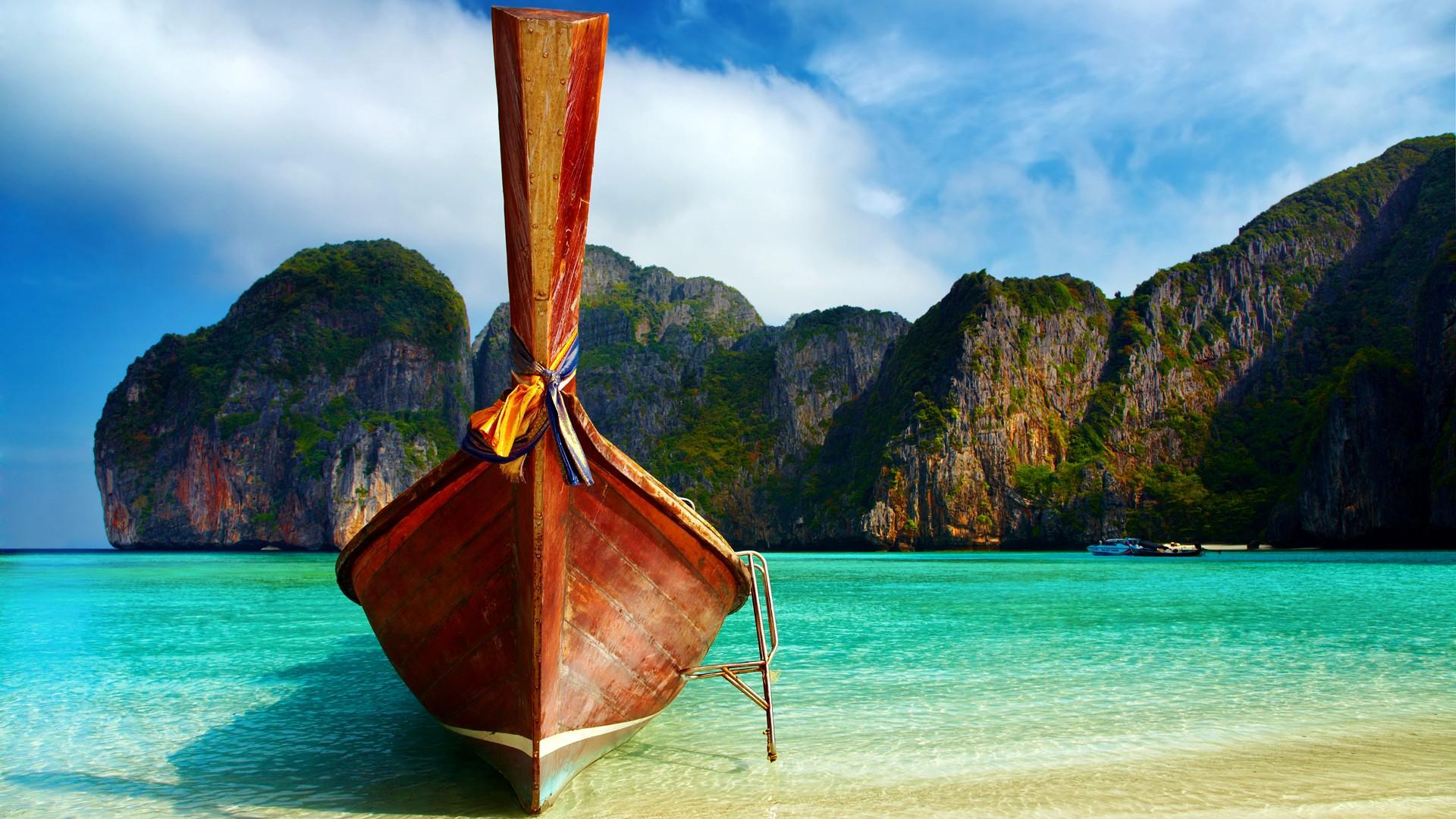 Wallpaper images tropical beach thailand beautiful for Wallpaper hd paesaggi