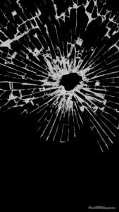 Sfondi HD iphone 5 retina vetro rotto