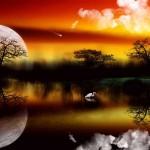 Sfondo HD paesaggio bellissimo fantasy
