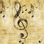 Sfondi HD musica - chiave di violino