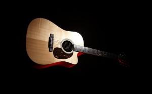 Sfondi HD musica - chitarra acustica