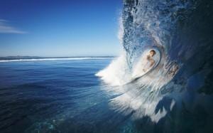 Sfondo Hd spettacolare mare onde e surf - wallpapers