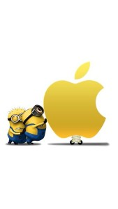 Sfondi HD iphone 6 minion e apple