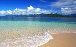 Sfondi HD spiagga e bellissima