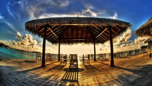 Sfondo HD spiaggia caraibi