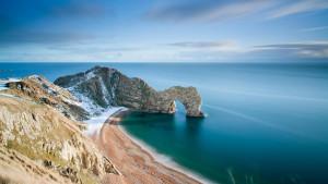 Sfondi HD MAre Inghilterra e roccia