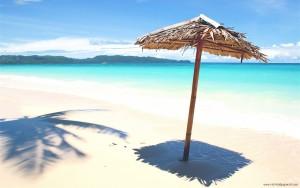 Sfondi HD spiaggia estate ombrellone