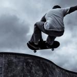 Sfondi HD sport estremi Skateboard acrobatico