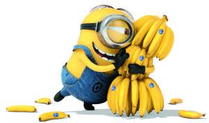 Sfondi HD Minions banane