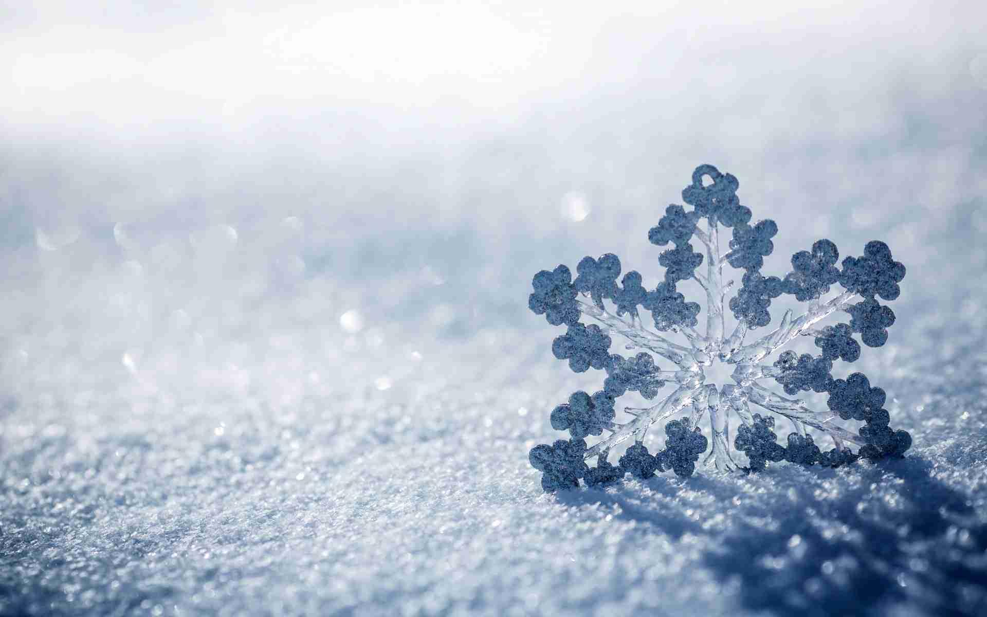 Sfondi Hd Fiocco Di Neve Sfondi Hd Gratis