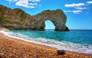 Sfondo HD mare e spiaggia