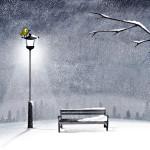 Sfondo HD neve